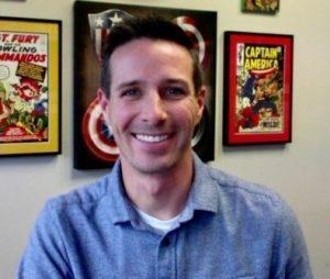 Portrait of Aaron Sholders.