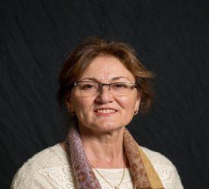 Portrait of Farida Safadi-Chamerlain.